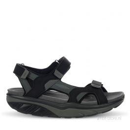 Saka 6S sandal black / charcoal grey