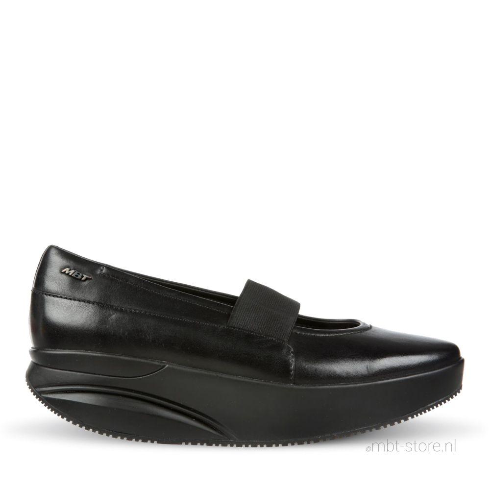 Aleela 6S Slip On black calf