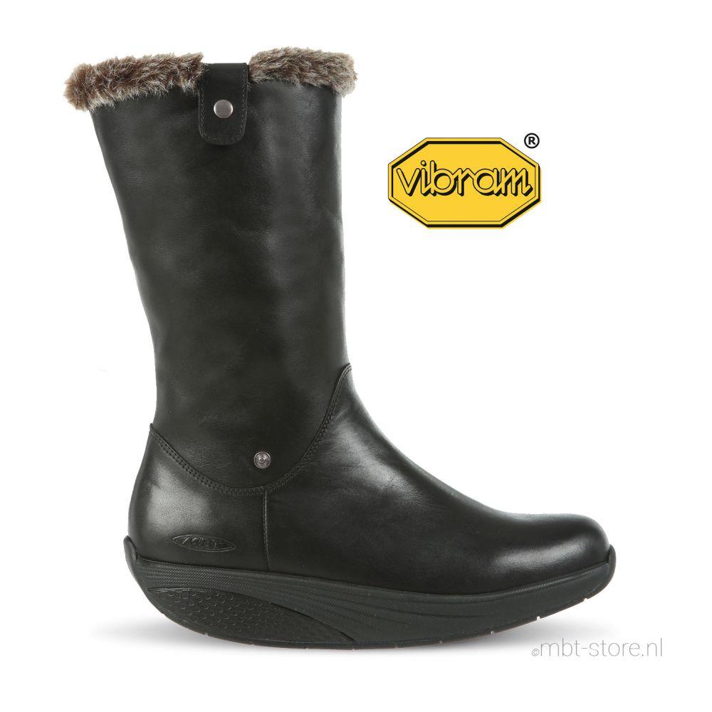 Belle MID boot W black nappa