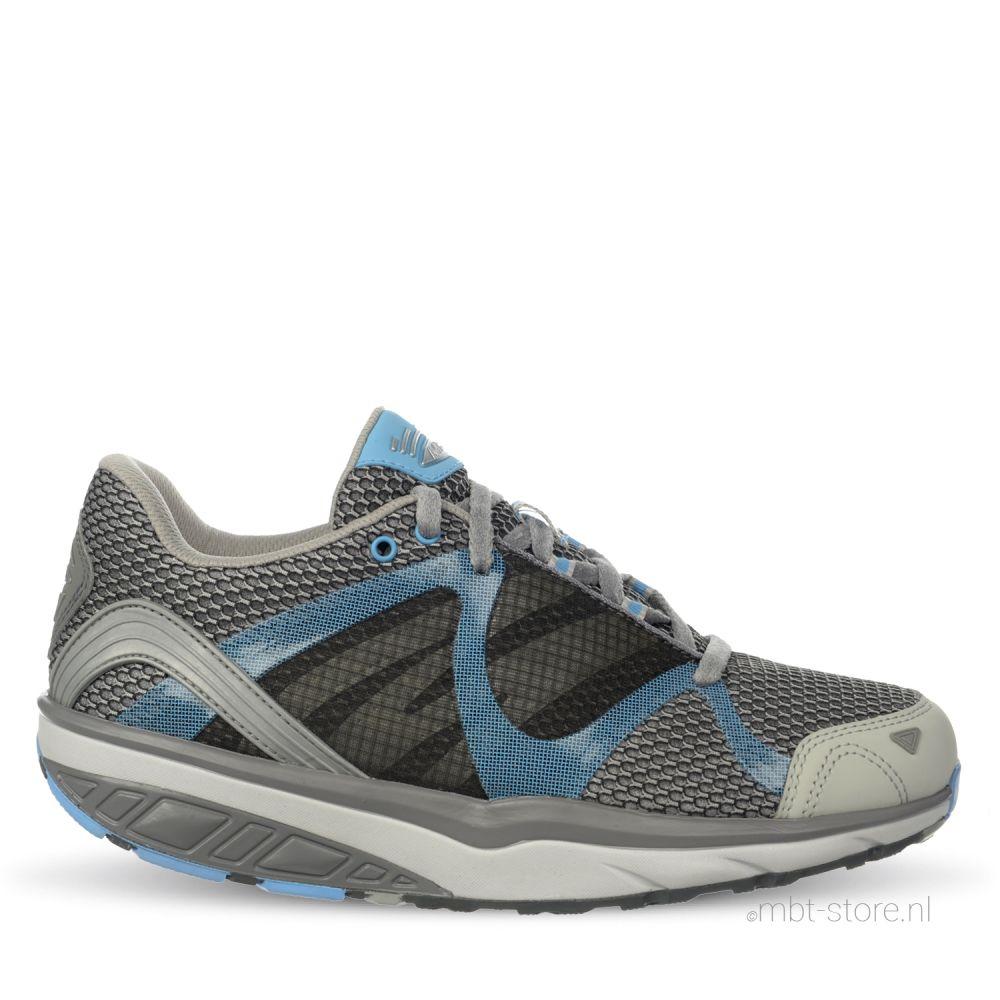 Leasha trail 6 W lace up grey/blue