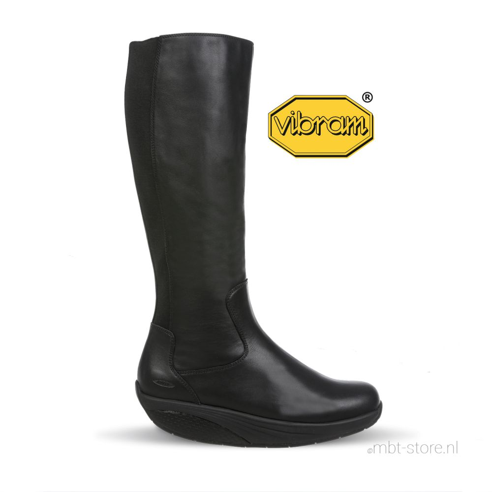 Maja long boot W black nappa