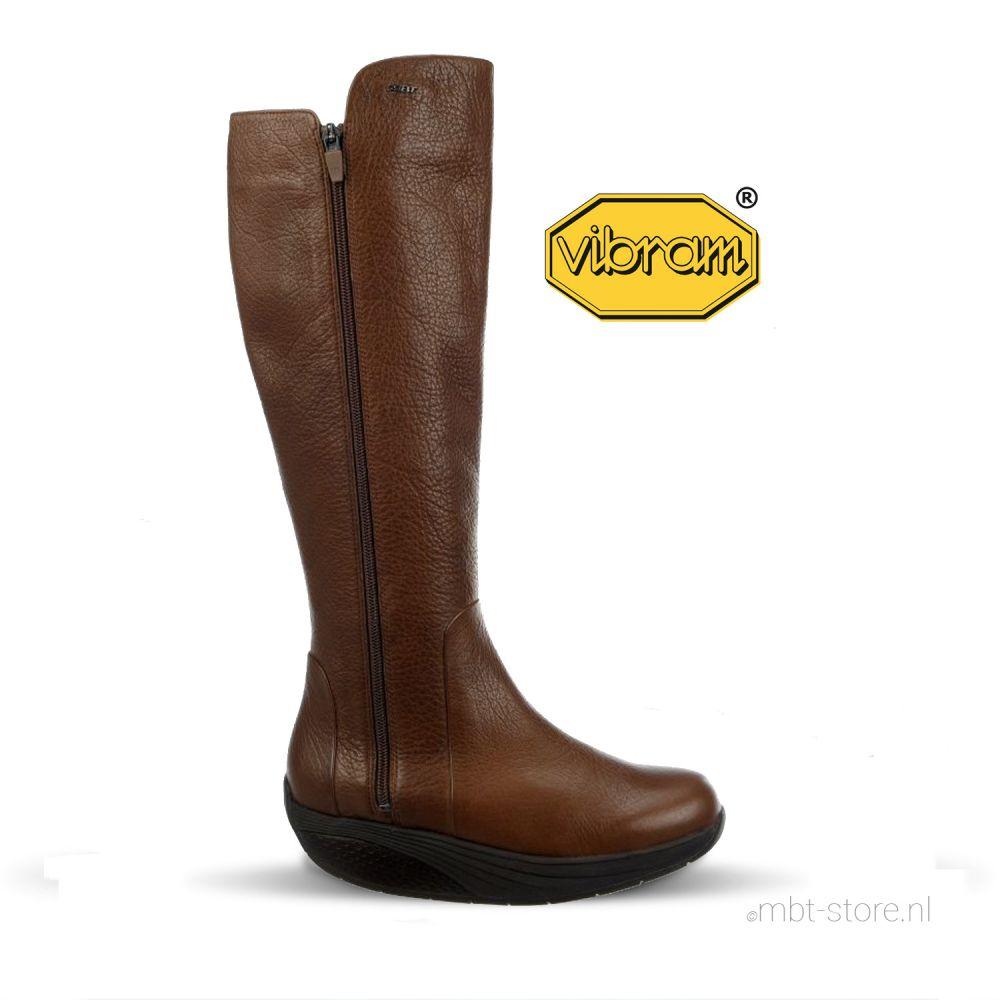 Malika ZIP High Boot coco brown