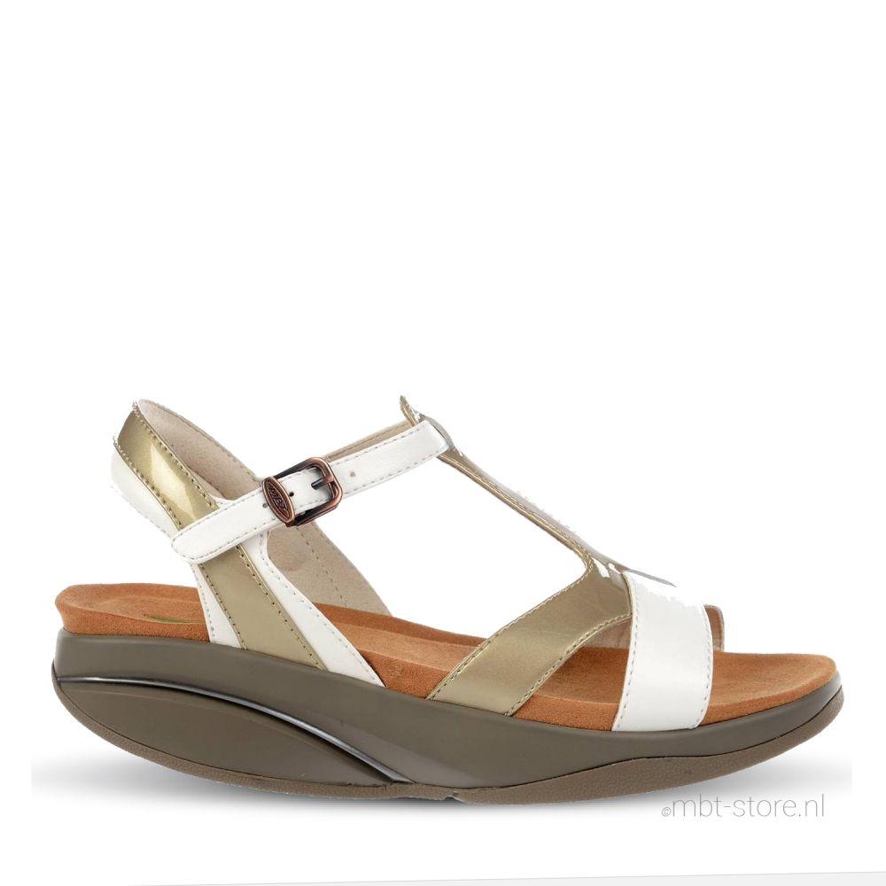 Raziya 6 W sandal white moth