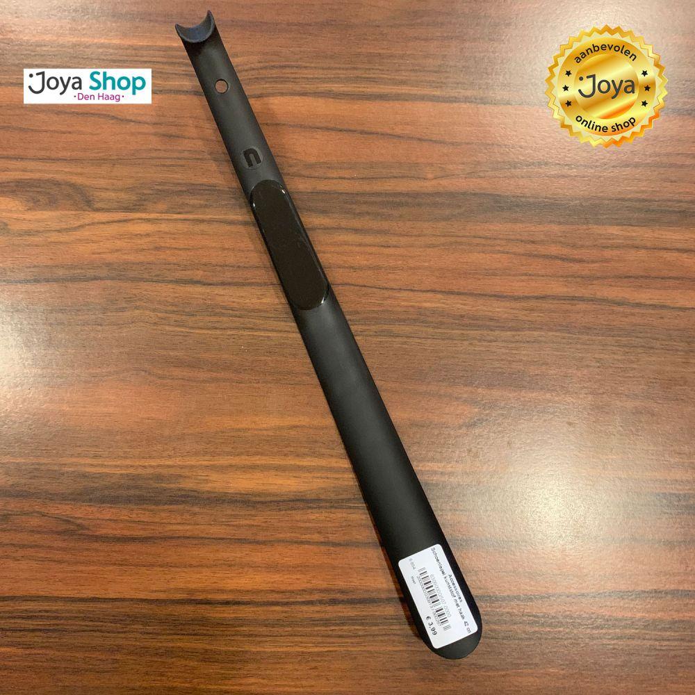 Schoenlepel kunststof met haak 42 cm