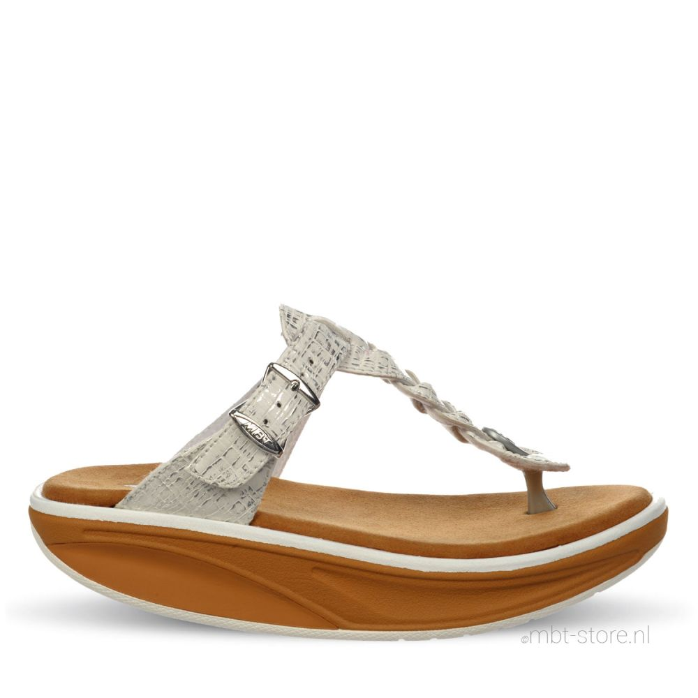 Thimba 6 sandal slipper white