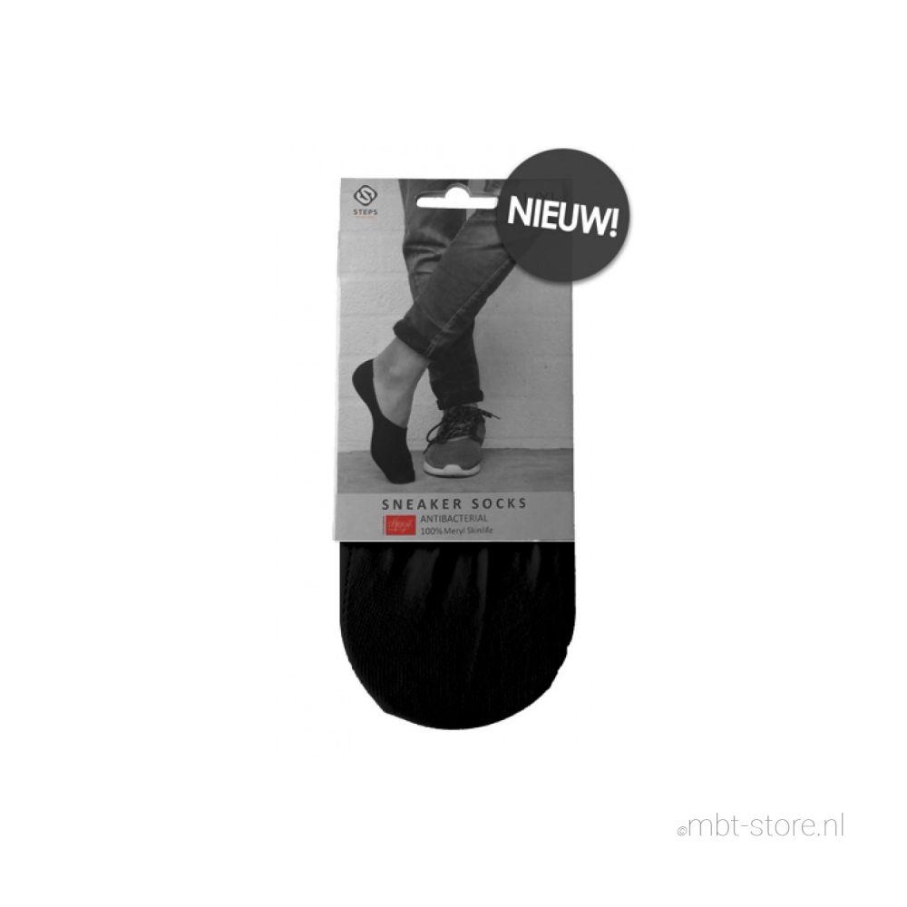 Steps Sneaker Socks zwart